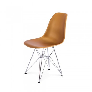 Стул Eames DSR Chair (золото)