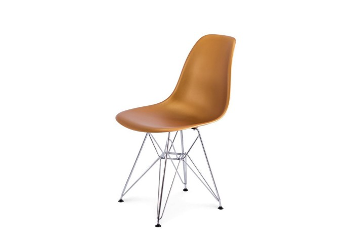 Стул Eames DSR Chair (золото)  1