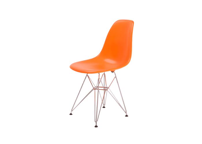 Стул Eames DSR Chair (оранжевый)  1