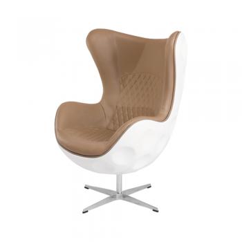 Кресло Egg Plastic (коричневый)