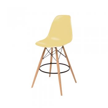 Барный стул Eames Bar Chair (кремовый)