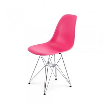 Стул Eames DSR Chair (розовый)