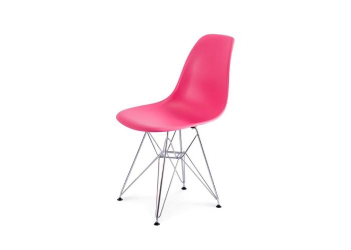 Стул Eames DSR Chair (розовый)  1