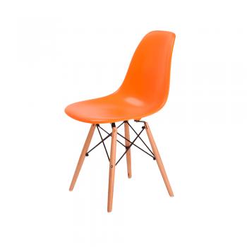 Стул Eames DSW Chair (оранжевый)
