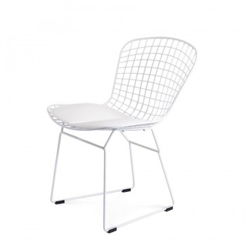 Стул Bertoia Chair (белый)