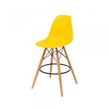 Барный стул Eames Bar Chair (желтый)