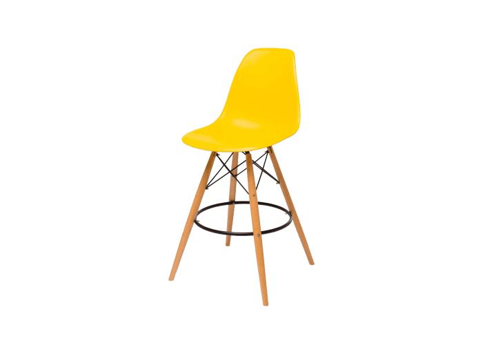 Барный стул Eames Bar Chair (желтый)  1