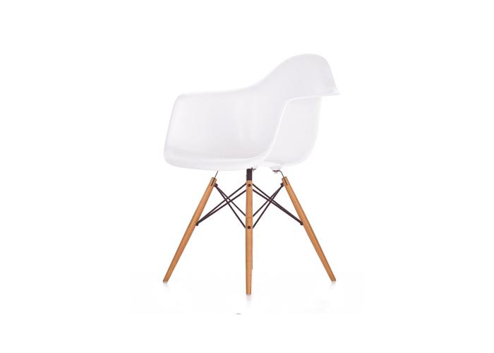 Eames DAW Chair (белый)  1