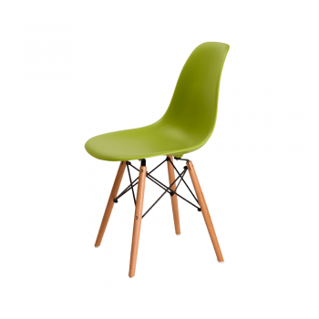 Стул Eames DSW Chair (зеленый)