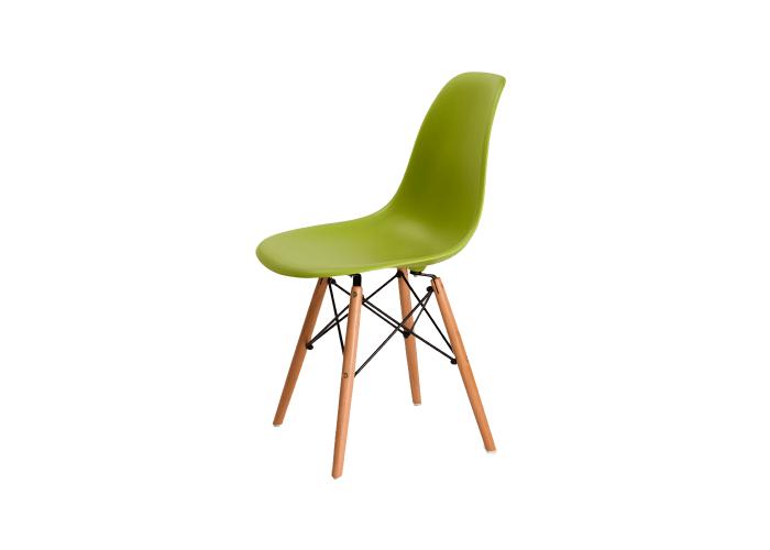 Стул Eames DSW Chair (зеленый)  1