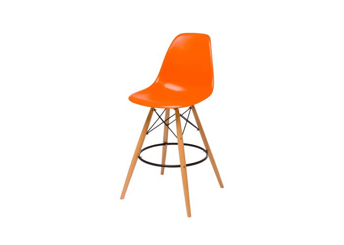 Барный стул Eames Bar Chair (оранжевый)  1