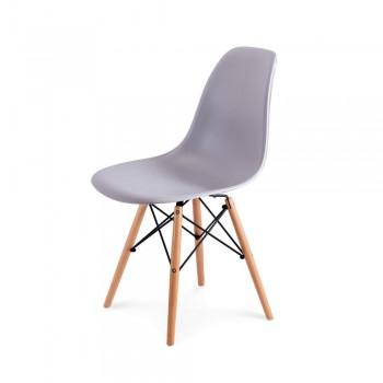 Стул Eames DSW Chair (серый)