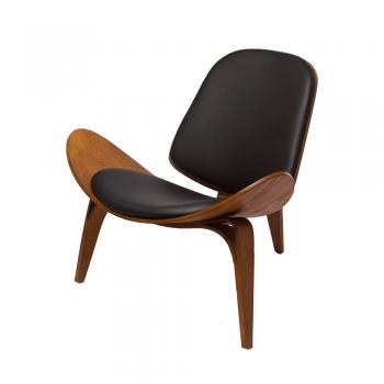 Кресло CH07 Shell Chair (орех)