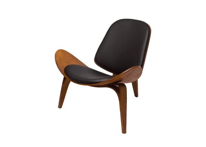Кресло CH07 Shell Chair (орех)  1