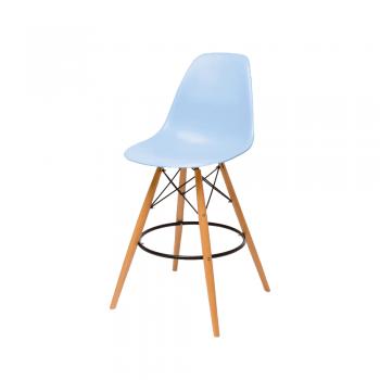 Барный стул Eames Bar Chair (голубой)