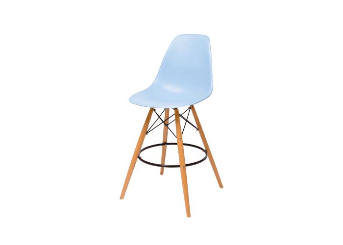 Барный стул Eames Bar Chair (голубой)  1