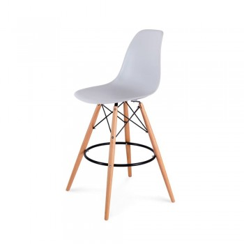 Барный стул Eames Bar Chair (серый)