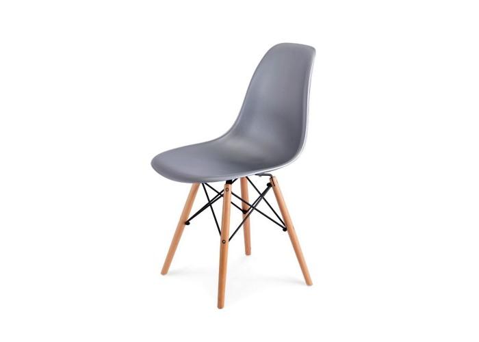 Стул Eames DSW Chair (серебро)  1