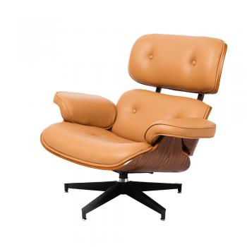 Кресло Eames Lounge Chair (бежевый)