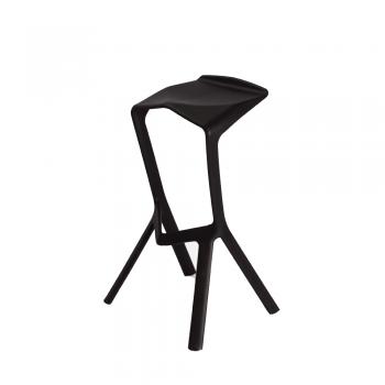 Барный стул Miura Chair (черный)