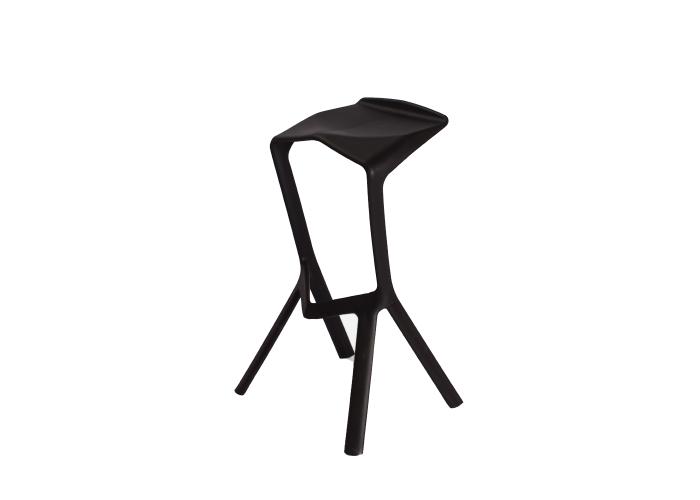 Барный стул Miura Chair (черный)  1