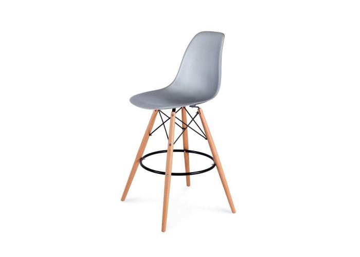 Барный стул Eames Bar Chair (серебро)  1