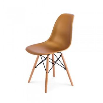 Стул Eames DSW Chair (золото)