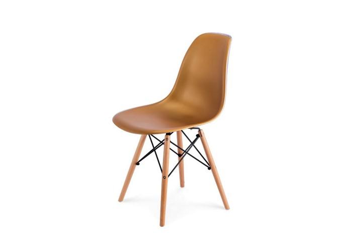Стул Eames DSW Chair (золото)  1