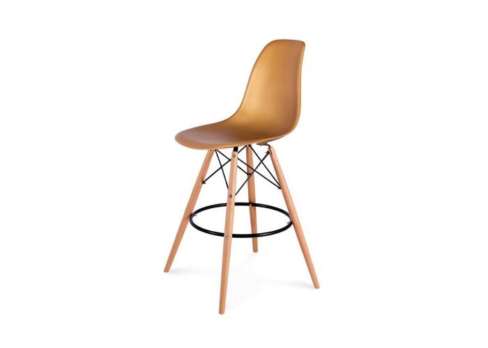 Барный стул Eames Bar Chair (золото)  1