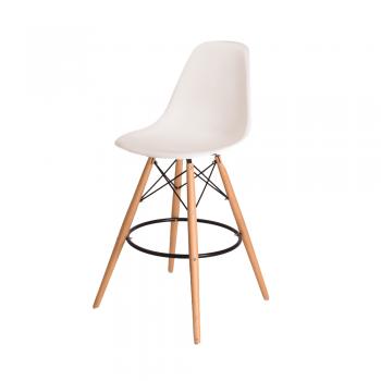 Барный стул Eames Bar Chair (белый)