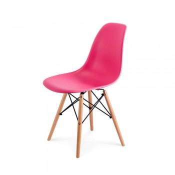 Стул Eames DSW Chair (розовый)