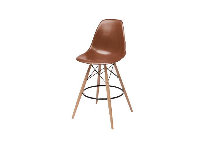 Барный стул Eames Bar Chair (кофейный)  1