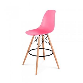 Барный стул Eames Bar Chair (розовый)