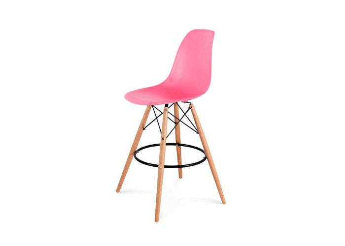 Барный стул Eames Bar Chair (розовый)  1