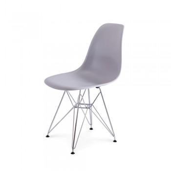 Стул Eames DSR Chair (серый)