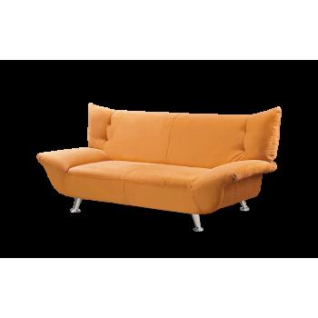 Диван прямой Рокси - 2 оранжевый