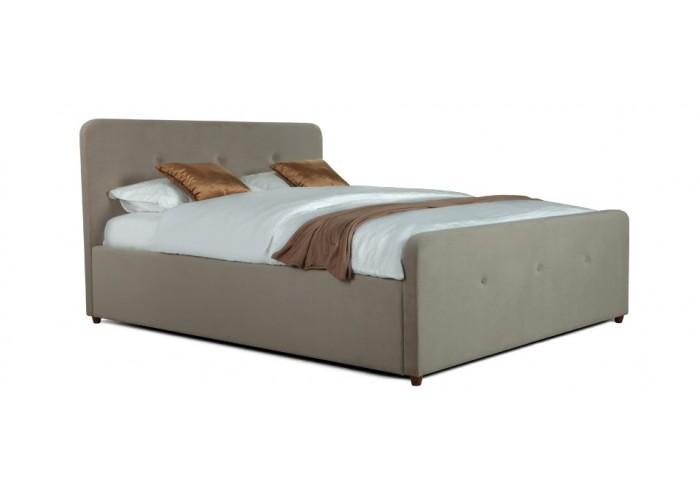 Кровать Аляска (спальное место 140х200 см) ткань trinity-02  1