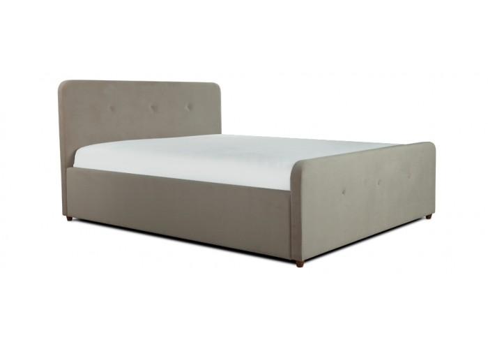 Кровать Аляска (спальное место 140х200 см) ткань trinity-02  4