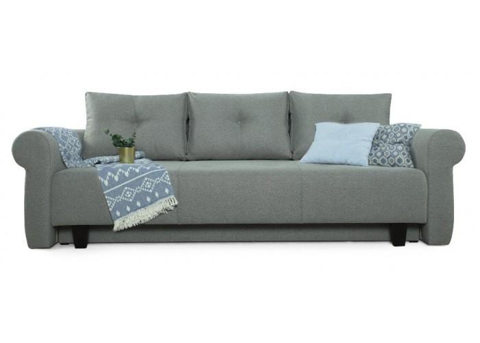 Прямой диван Грета (серый)  1