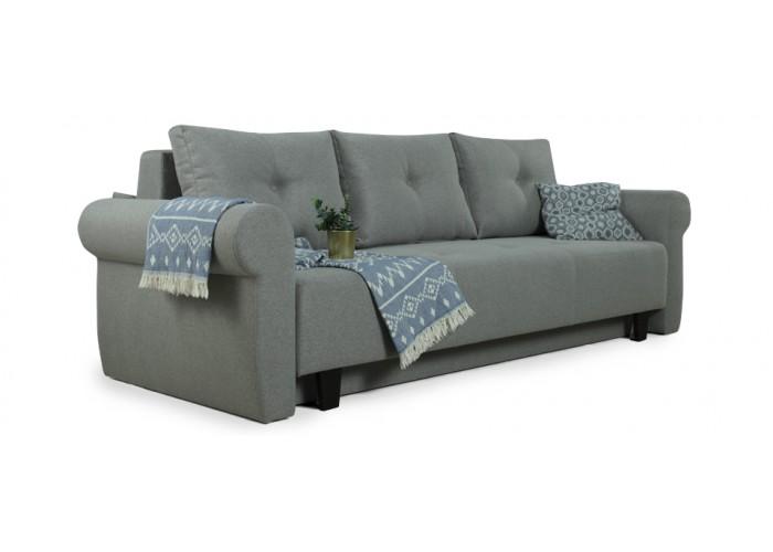 Прямой диван Грета (серый)  2