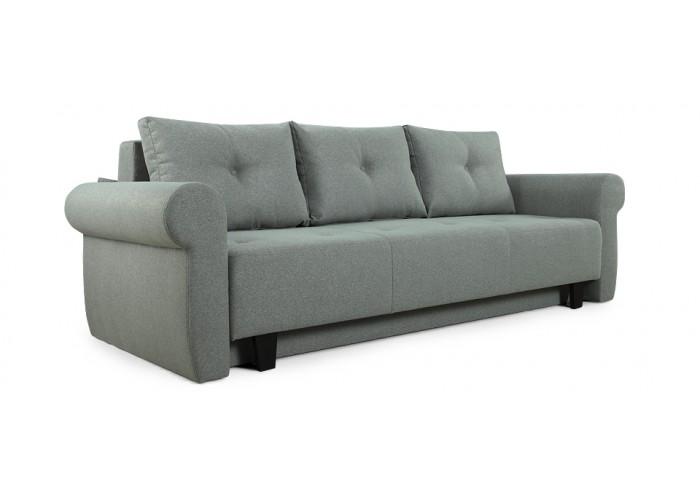 Прямой диван Грета (серый)  3