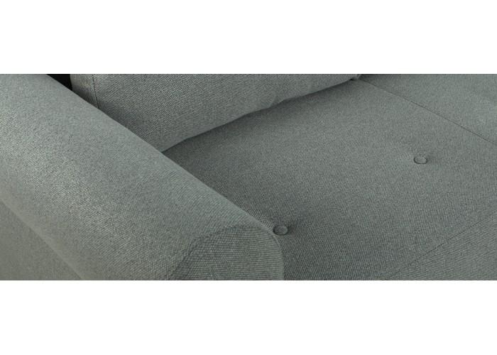 Прямой диван Грета (серый)  5