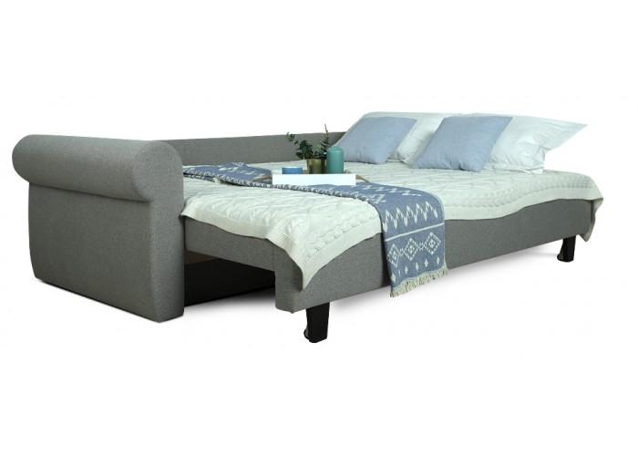 Прямой диван Грета (серый)  7