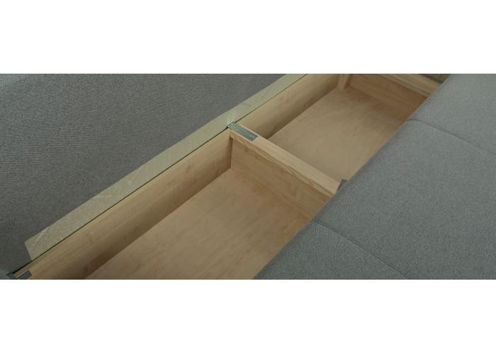 Прямой диван Грета (серый)  8