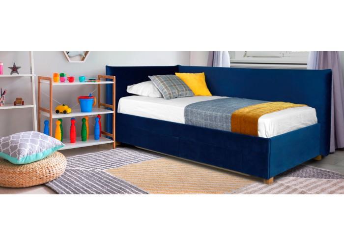 Кровать Дрим (спальное место 90х200 см) с ящиком  2