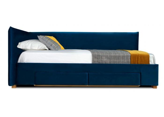 Кровать Дрим (спальное место 90х200 см) с ящиком  3