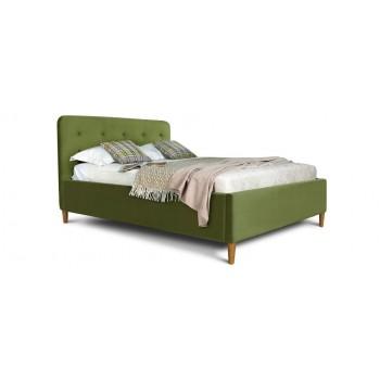 Кровать Монтана (спальное место 140х200 см) ткань persempra
