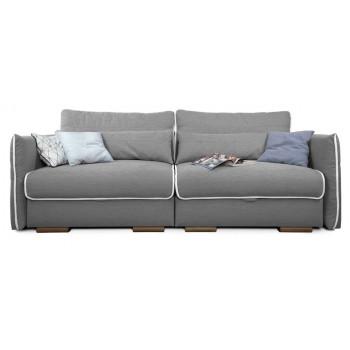 Прямой диван Тутти (серый)