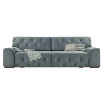 Прямой диван Бергамо (серый)