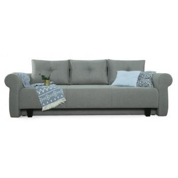 Прямой диван Грета (серый)